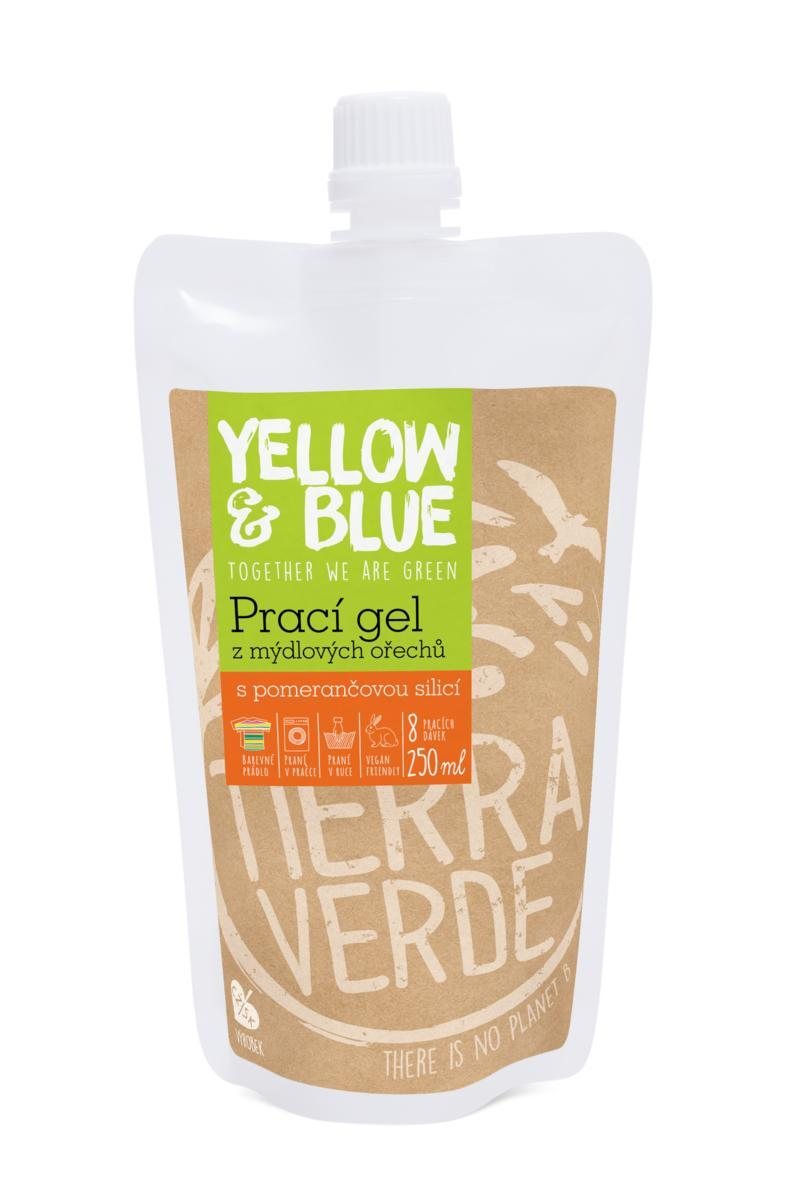 Použití produktu Prací gel pomeranč