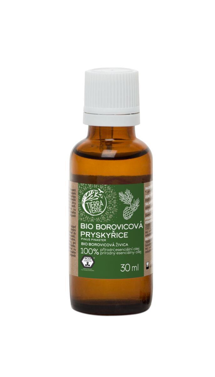 Použití produktu Esenciální olej BIO Borovicová pryskyřice (30 ml)