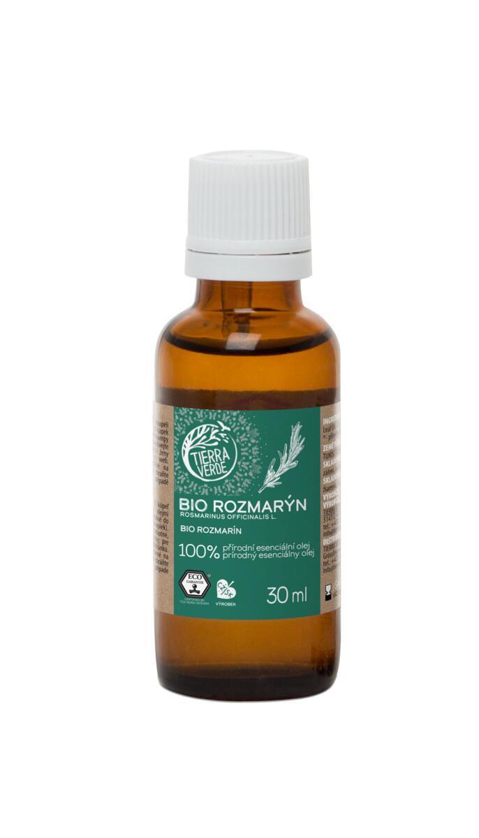 Použití produktu Esenciální olej BIO Rozmarýn (30 ml)