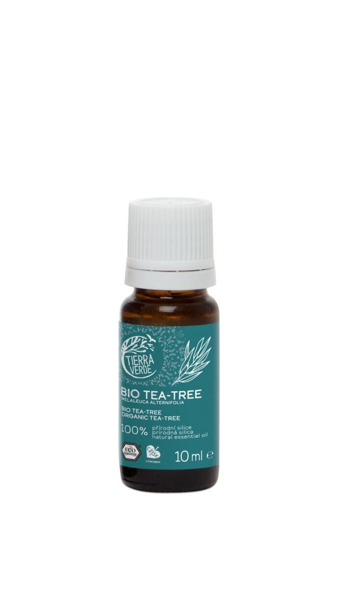 Použití produktu Esenciální olej BIO Tea Tree (10 ml)
