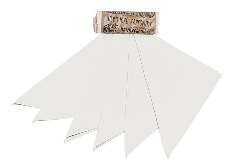 Použití produktu Kapesníky dámské – natural (28×28 cm) 6 ks