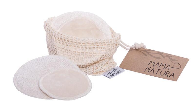 Použití produktu Sada kosmetických tamponů samet – mix (4 ks malý, 2 ks velký)