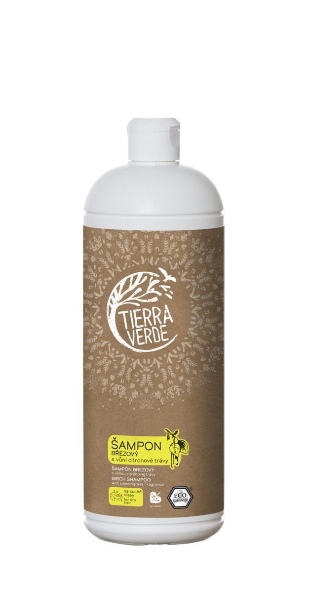 Použití produktu Šampon březový svůní citronové trávy (lahev 1 l)